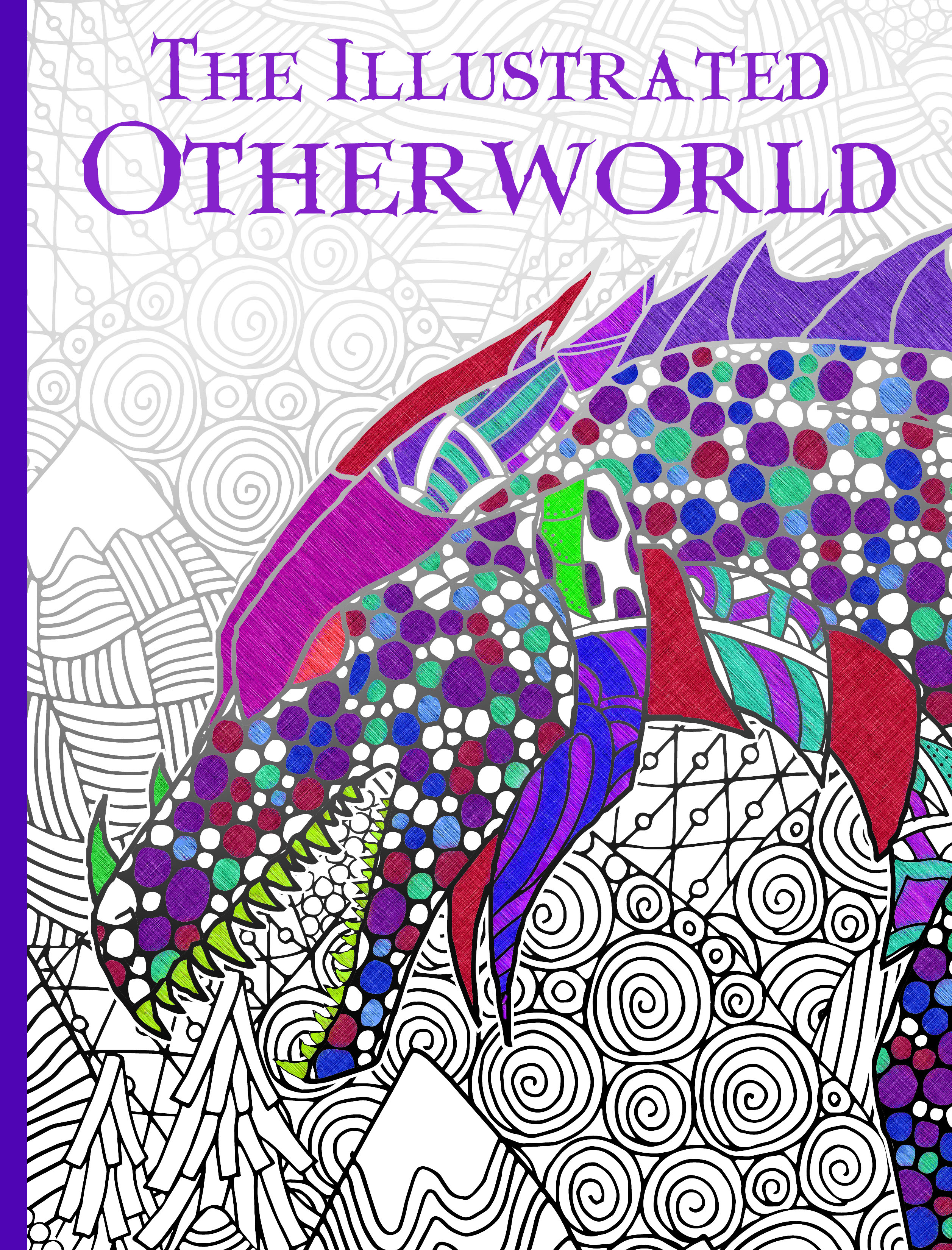 Illustrated Book Cover Zwart : The illustrated otherworld katie macalister