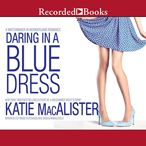 Daring in a Blue Dress Audio Cover