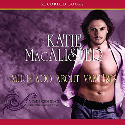 Much Ado About Vampires Audio Cover