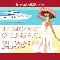 The Importance of Being Alice Audio Cover